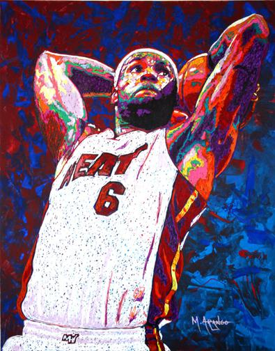 LeBron James by MArango